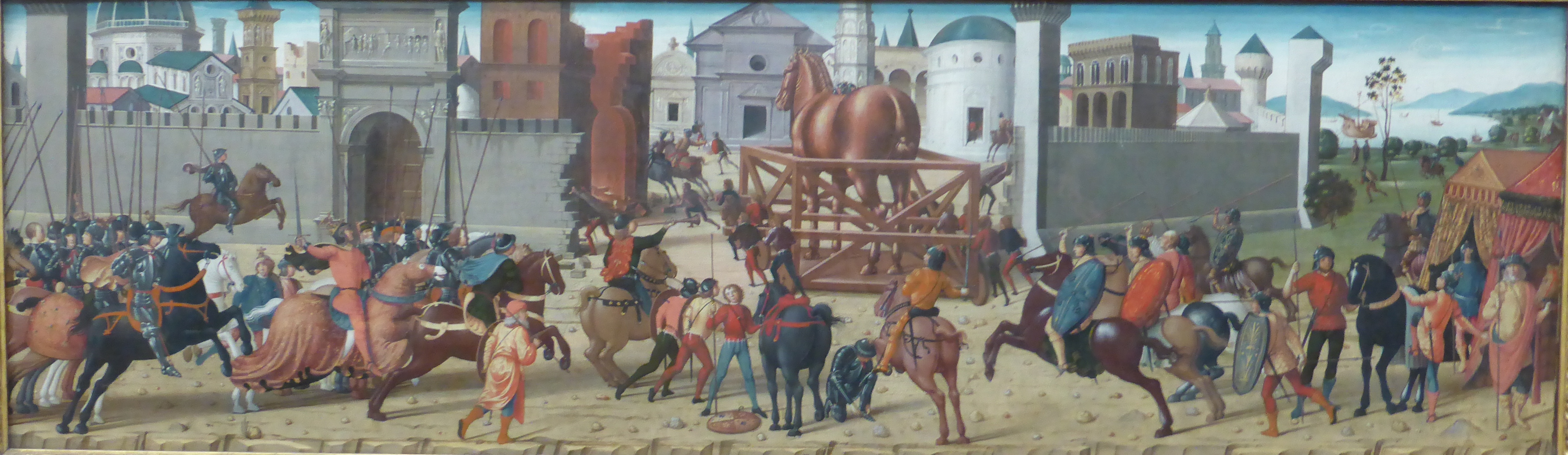 My Museum Favourite The Siege Of Troy Res Gerendae